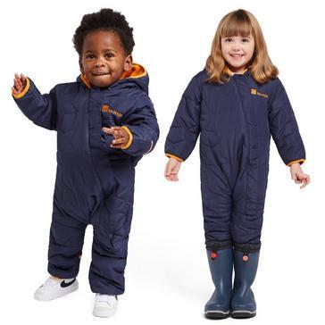 Navy The Edge Children's Star Snowsuit