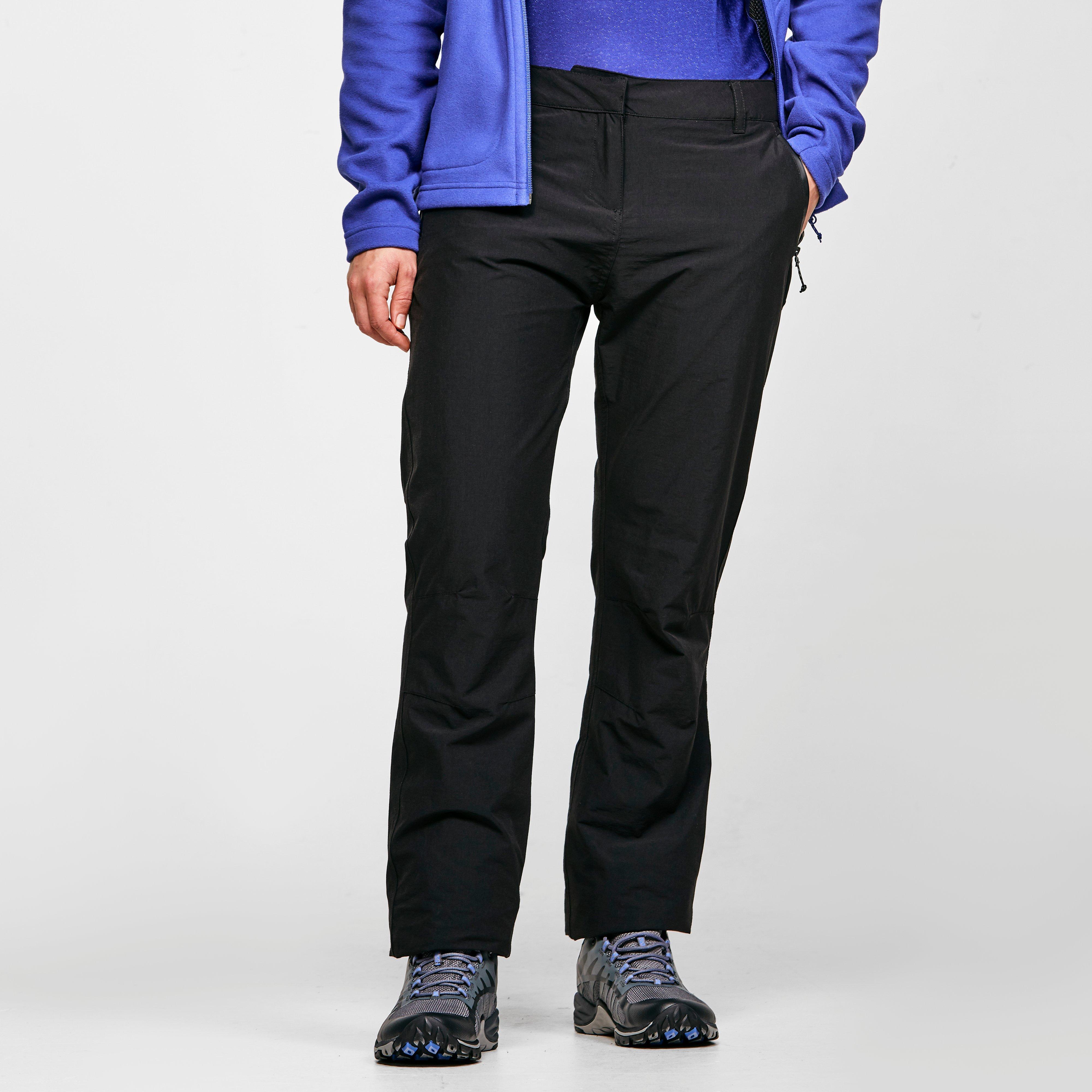 Craghoppers Women's Kiwi Pro Waterproof Trousers - Black, Black