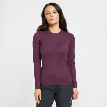 Purple Montane Women's Primino 140 Long Sleeve T-Shirt