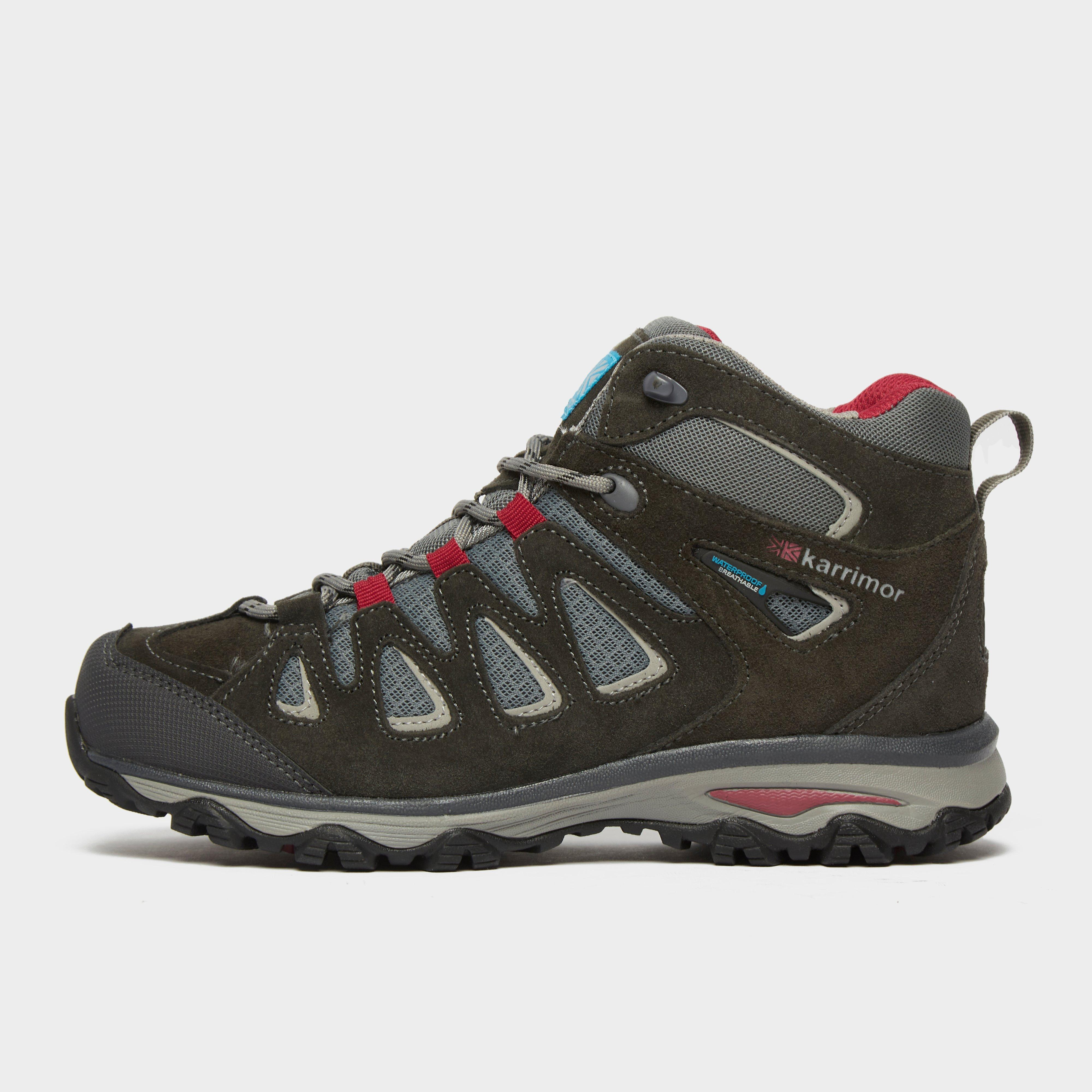 Karrimor Isla Mid Ladies Weathertite Walking Boot - Grey, Grey