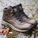 Brown Hi Tec Men's Altitude VI I Waterproof Walking Boots image 6