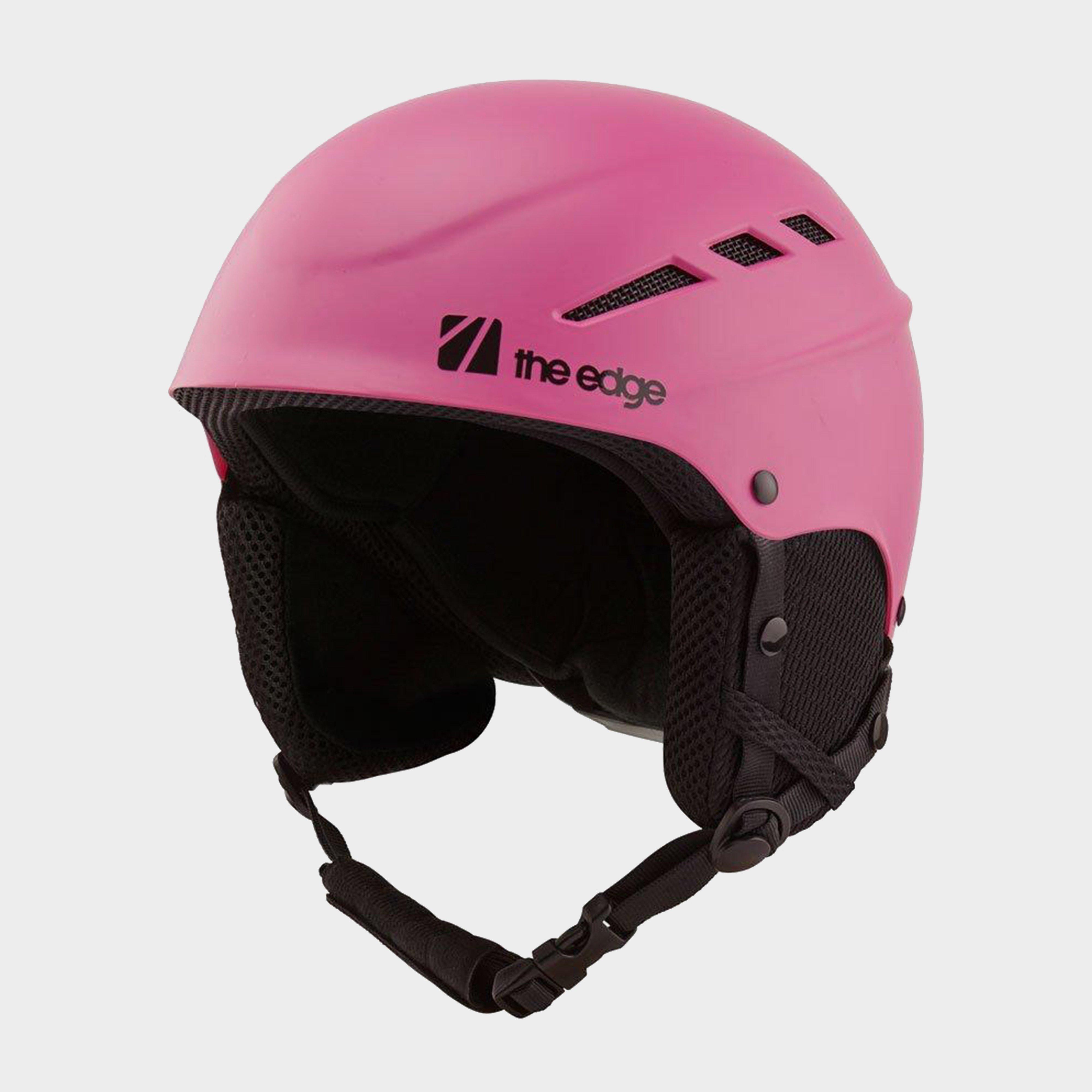 The Edge Yukio Jnr Kids' Snow Helmet - Pink/Helmet, Pink