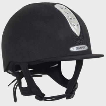 Black Champion Junior X-Air Dazzle Plus Riding Helmet