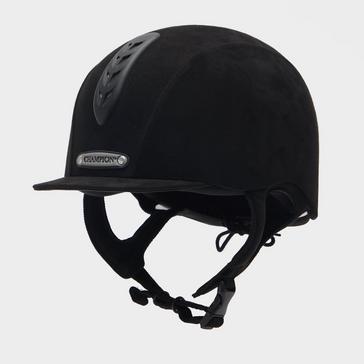 BLACK Champion Junior X-Air Plus Riding Hat