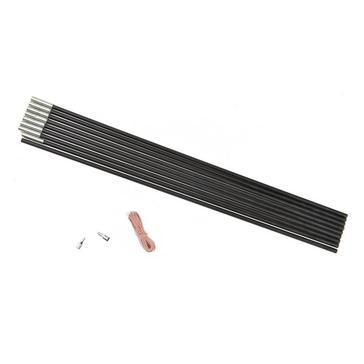BLACK HI-GEAR Fibreglass Pole Kit 9 Section 12.7mm