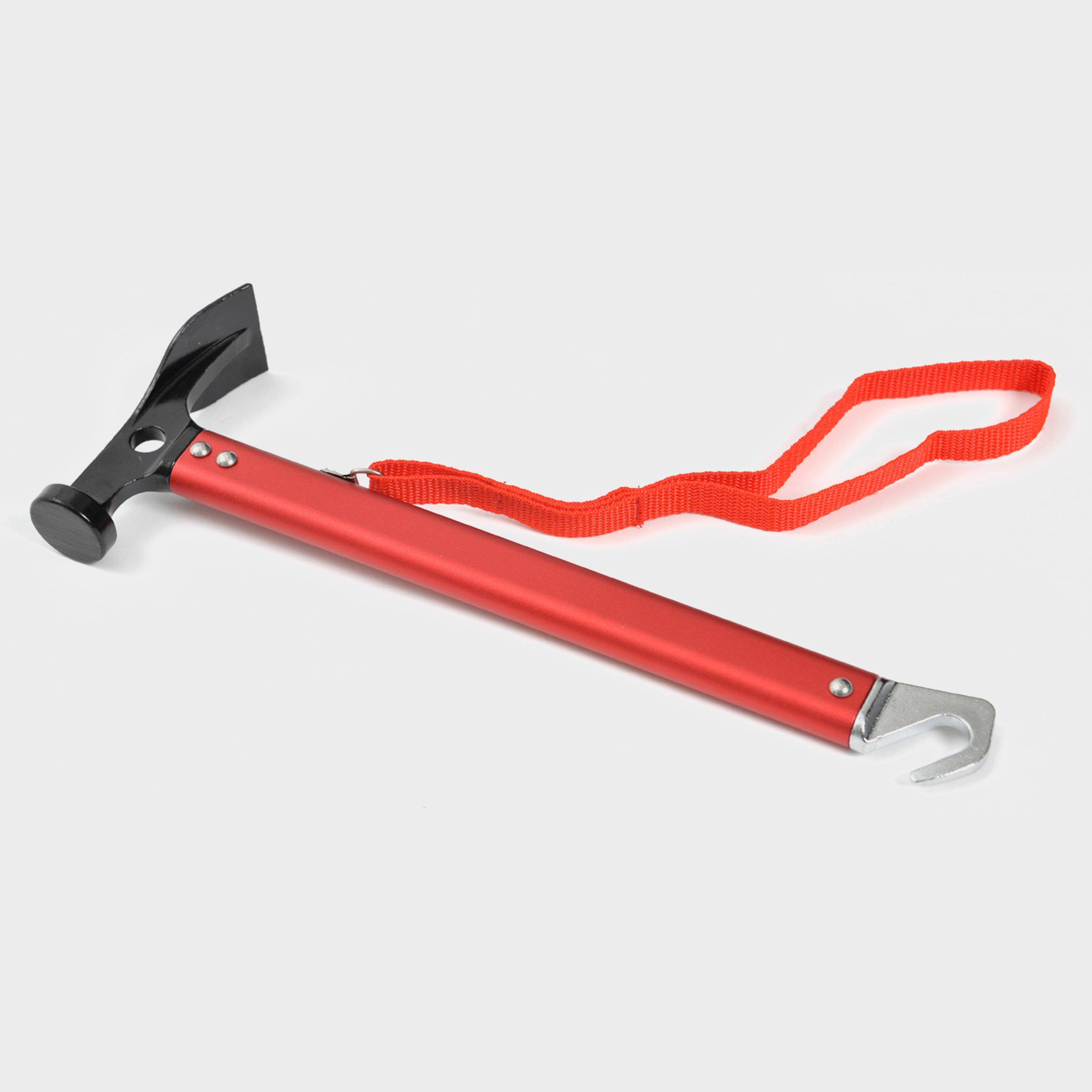 Oex Oex Hammer inc. Aluminium Handle and Peg Pull - Orange, Orange