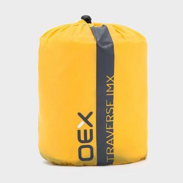 Yellow OEX Traverse IMX Inflatable Sleeping Mat