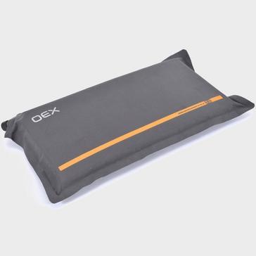 Grey OEX Traverse Self-Inflating Pillow