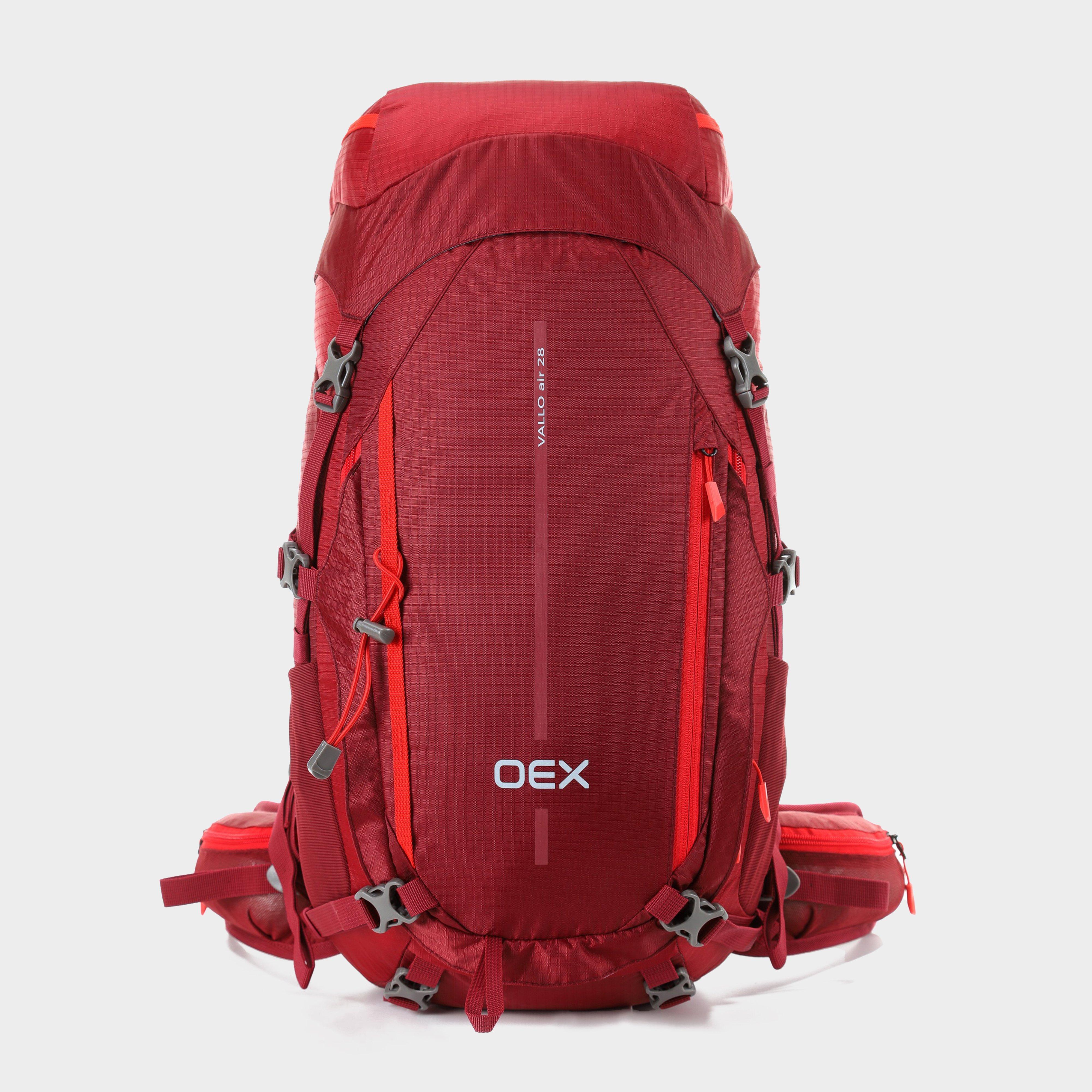 Oex Oex Vallo Air 28 Rucksack - Red, Red