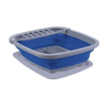 Blue HI-GEAR Folding Wash Drainer