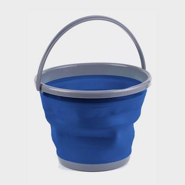 Blue HI-GEAR Folding Bucket 10L