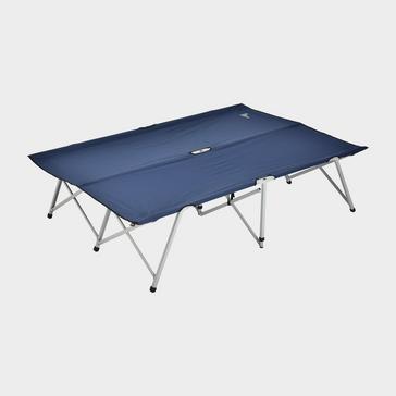 Navy HI-GEAR Double Folding Campbed