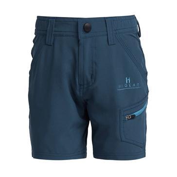 BLUE HI-GEAR Kids' Dagon Short