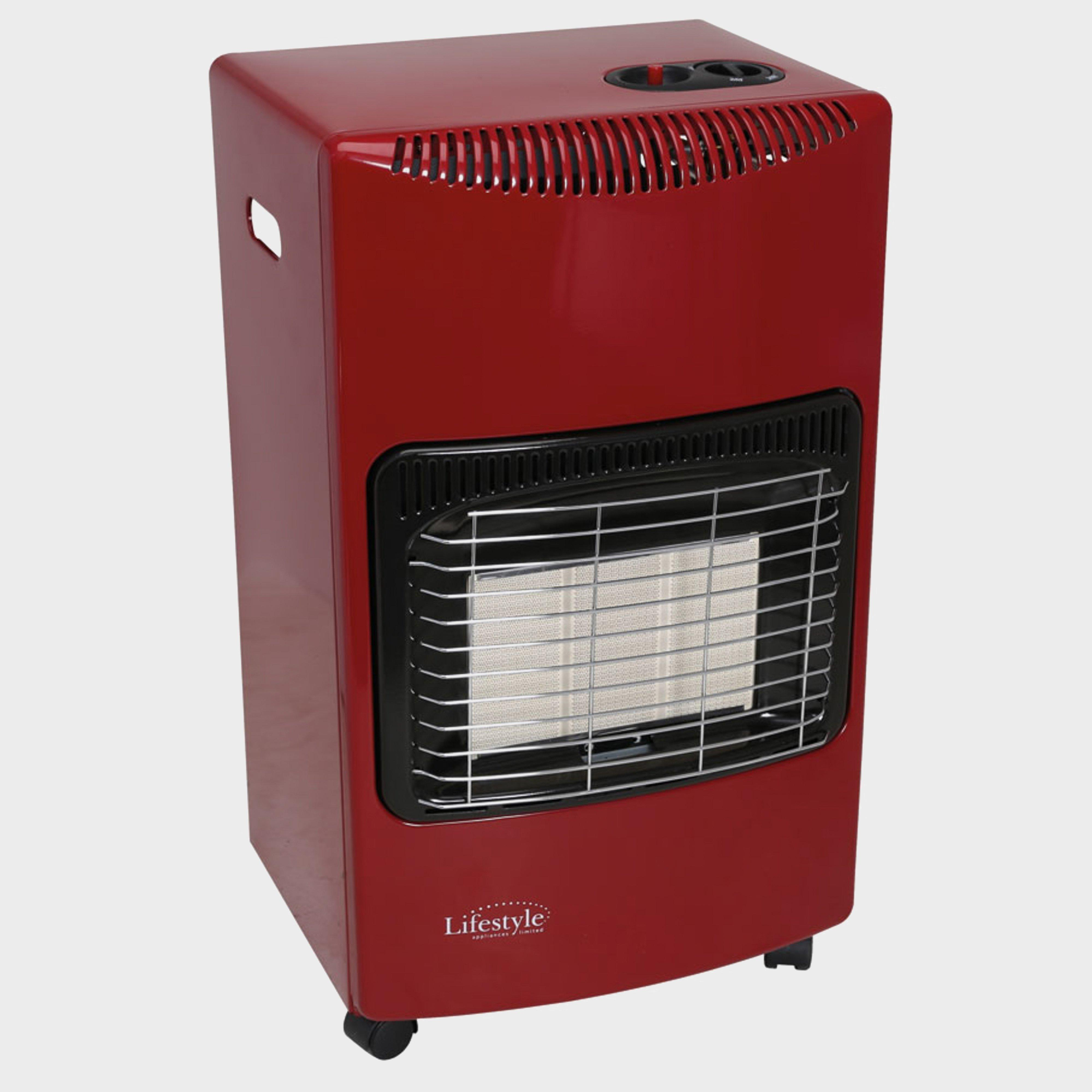 Quest Quest Large Gas Cabinet Heater (Fire Red)