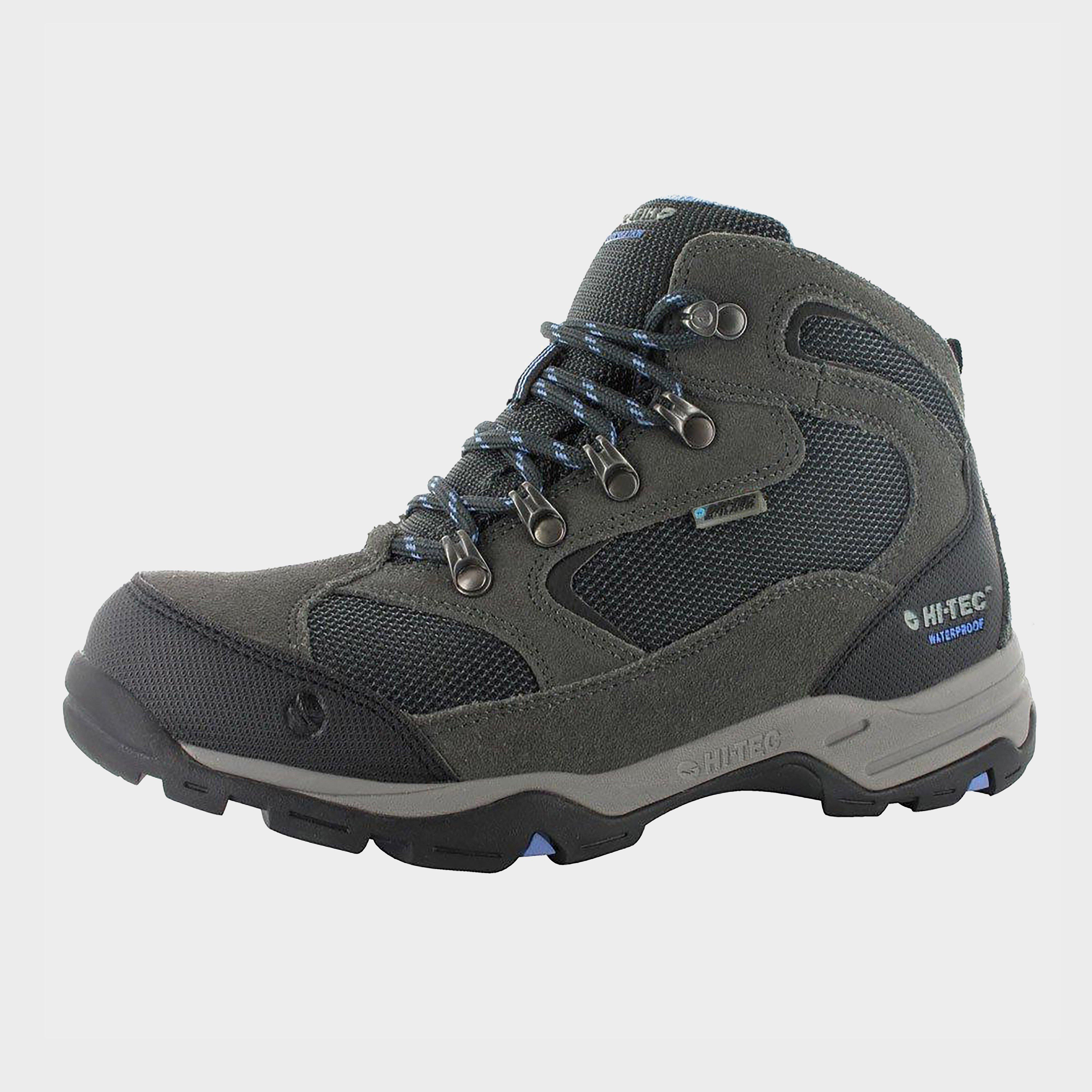 Hi Tec Women's Storm Waterproof Walking Boots - Grey, Grey