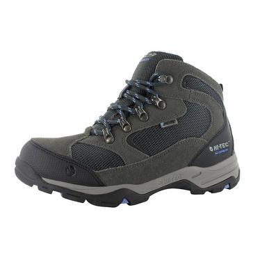 Grey Hi Tec Women's Storm Waterproof Walking Boots