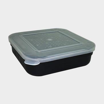 BLACK FLADEN Black 1 5 Pint Square Bait Box