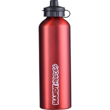 RED Handy Heroes 750ML Aluminium Bottle