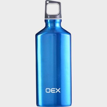 BLUE OEX 600ml Aluminium Bottle