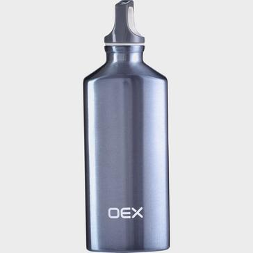 GREY OEX 600ML Aluminium Bottle