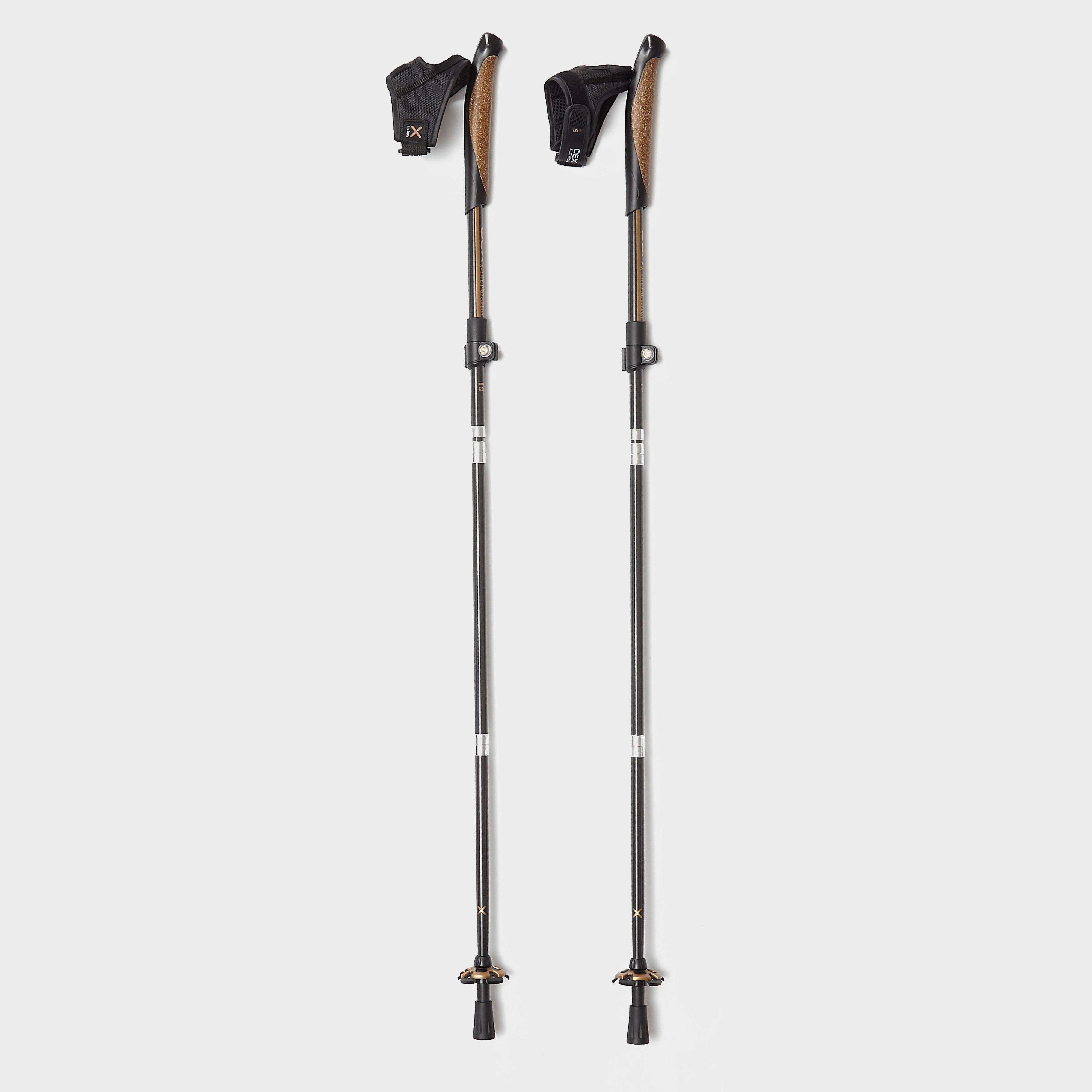 Oex Oex X-Lite Pro Carbon Walking Poles (Pair) - Black, Black