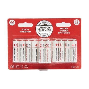 Multi Handy Heroes AA Alkaline Batteries (12 Pack)