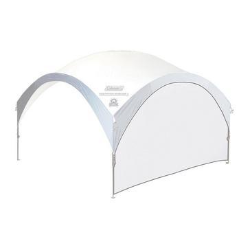 White COLEMAN FastPitchTM Event Shelter Pro L Sunwall