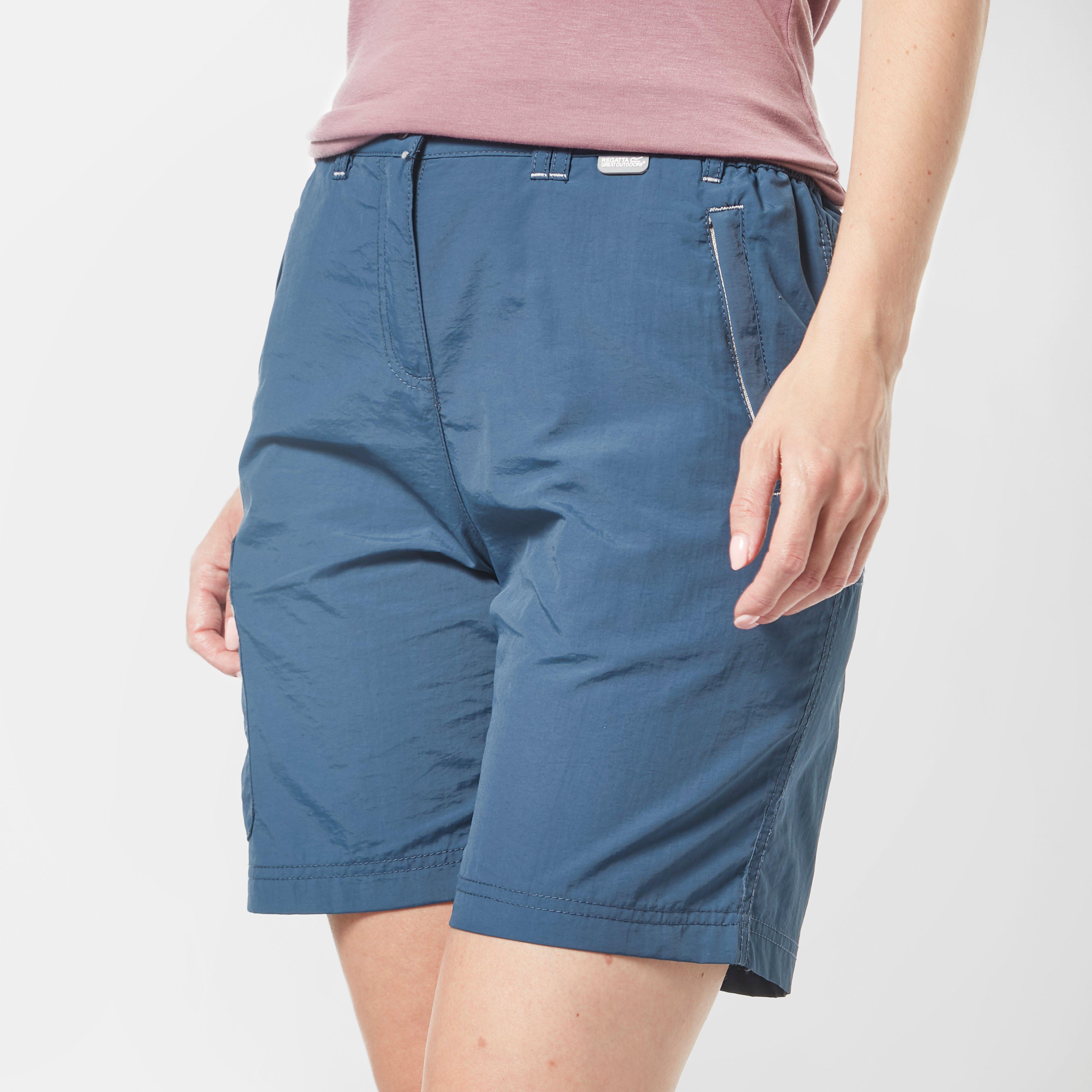 Regatta Regatta Womens Chaska Shorts - Blue, Blue