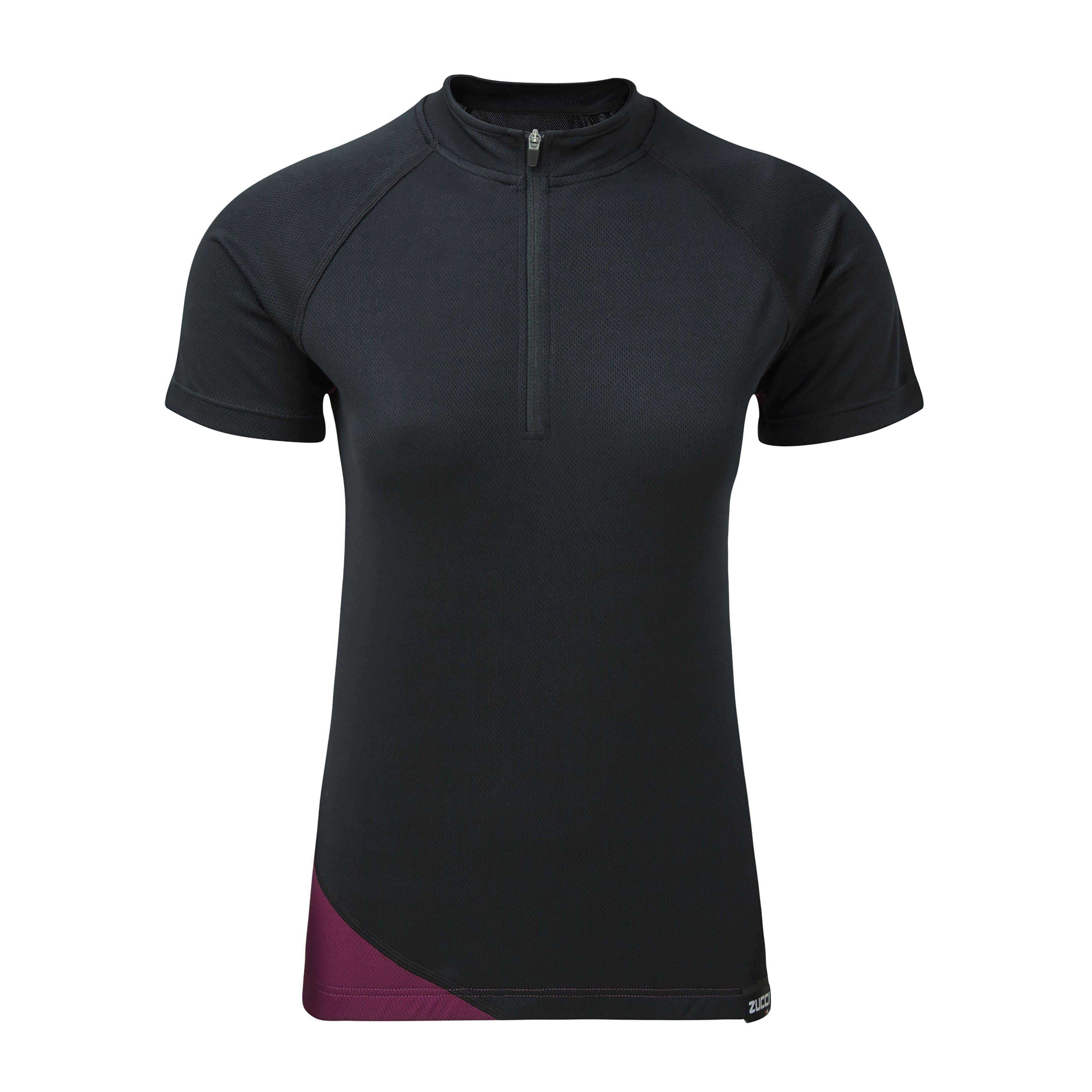 Zucci Zucci Comp Half-Zip Short Sleeve Womens Jersey