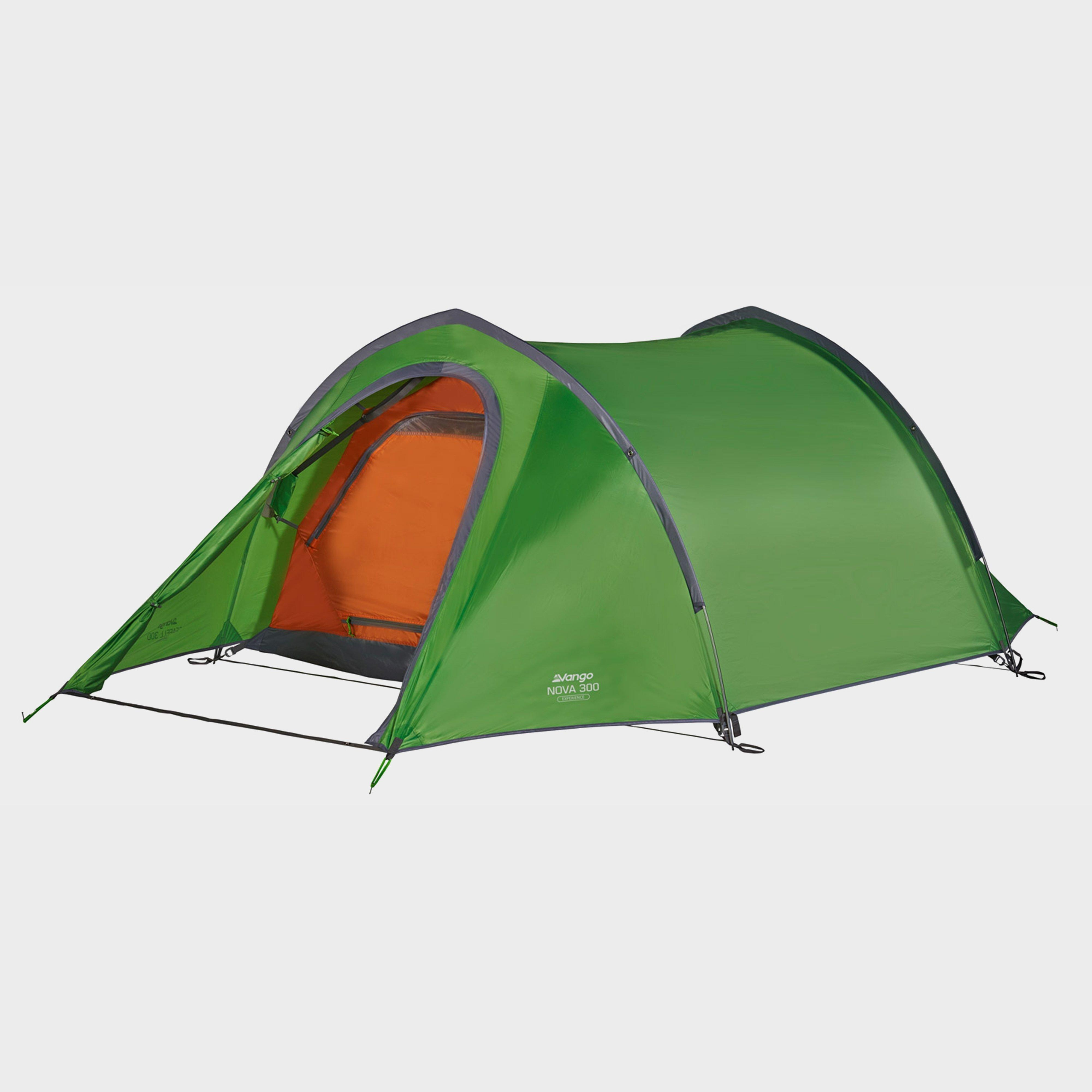 Vango Vango Nova 300 3 Person Tent - Green, Green