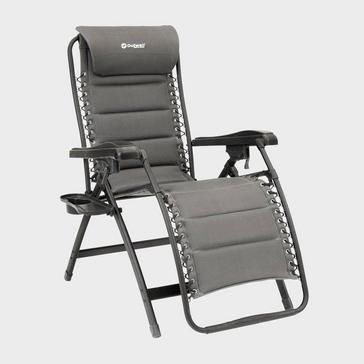 Grey|Grey Outwell Acadia Reclining Camping Chair