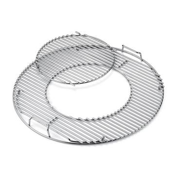 silver Weber Gourmet BBQ System Cooking Grates