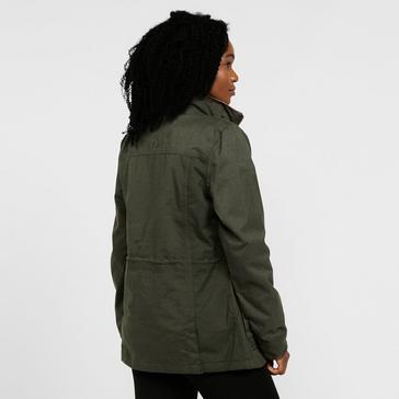 green Regatta Women's Alixa Waterproof Jacket