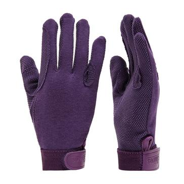 Purple Shires Kids' Newbury Gloves