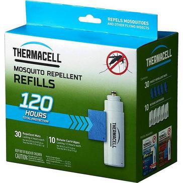 No Colour THERMACELL Original Mosquito Repeller Refills (Mega Pack)