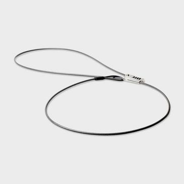 Black LIFEVENTURE Sliding Cable Lock
