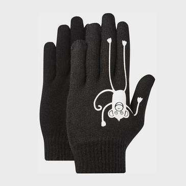 Black Peter Storm Boys Thinsulate Knit Gloves Age 11-13