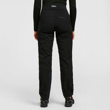 Black OEX Women's Strata Softshell Trousers