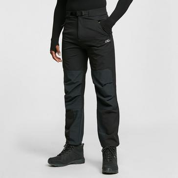 BLACK OEX Men's Strata Softshell Trouser (Short length)