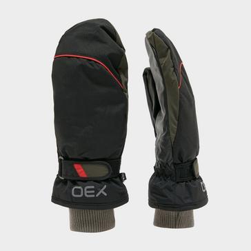 Black OEX Summit Waterproof Mitts