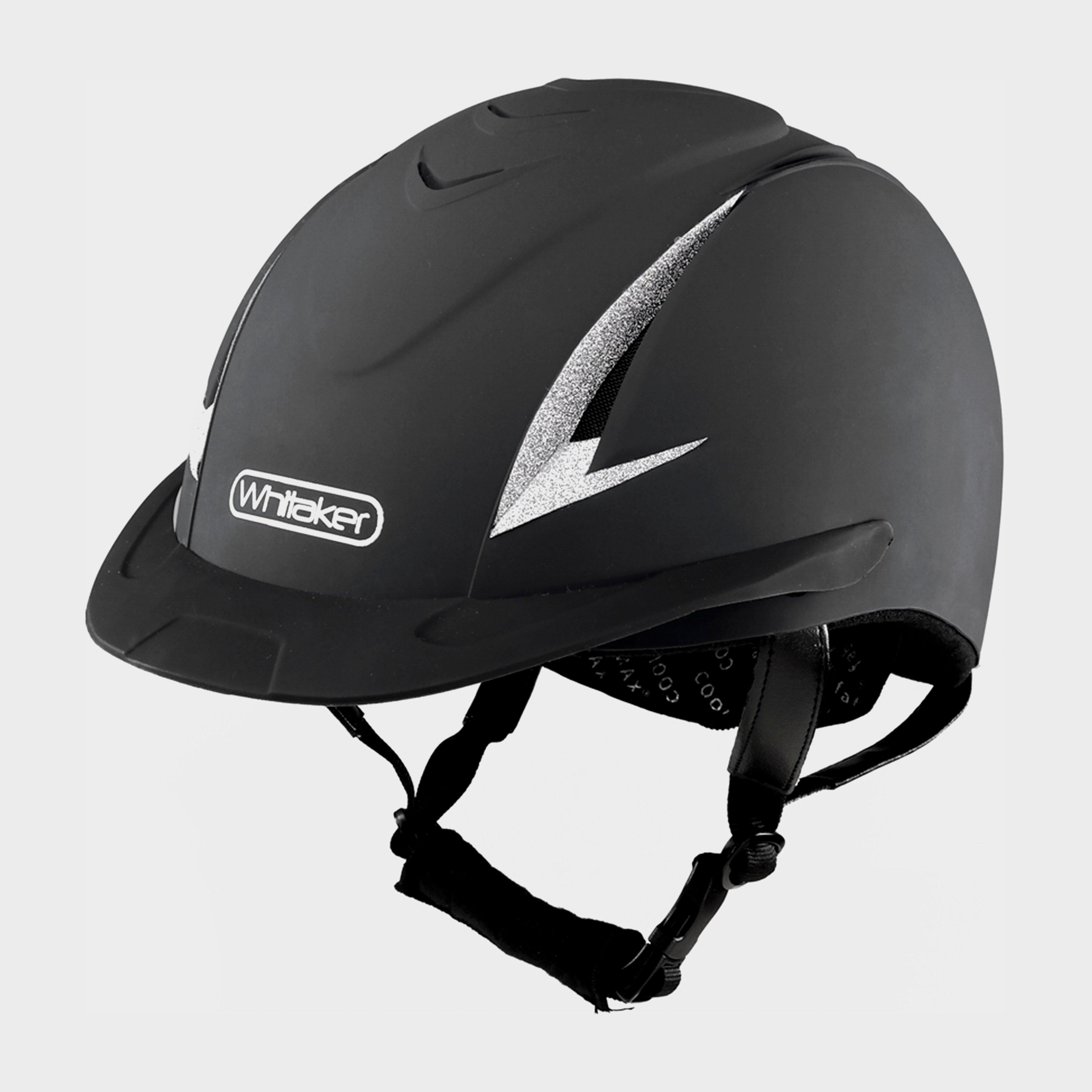 Image of Whitaker Nrg Sparkle Helmet - Black/Black, Black/Black