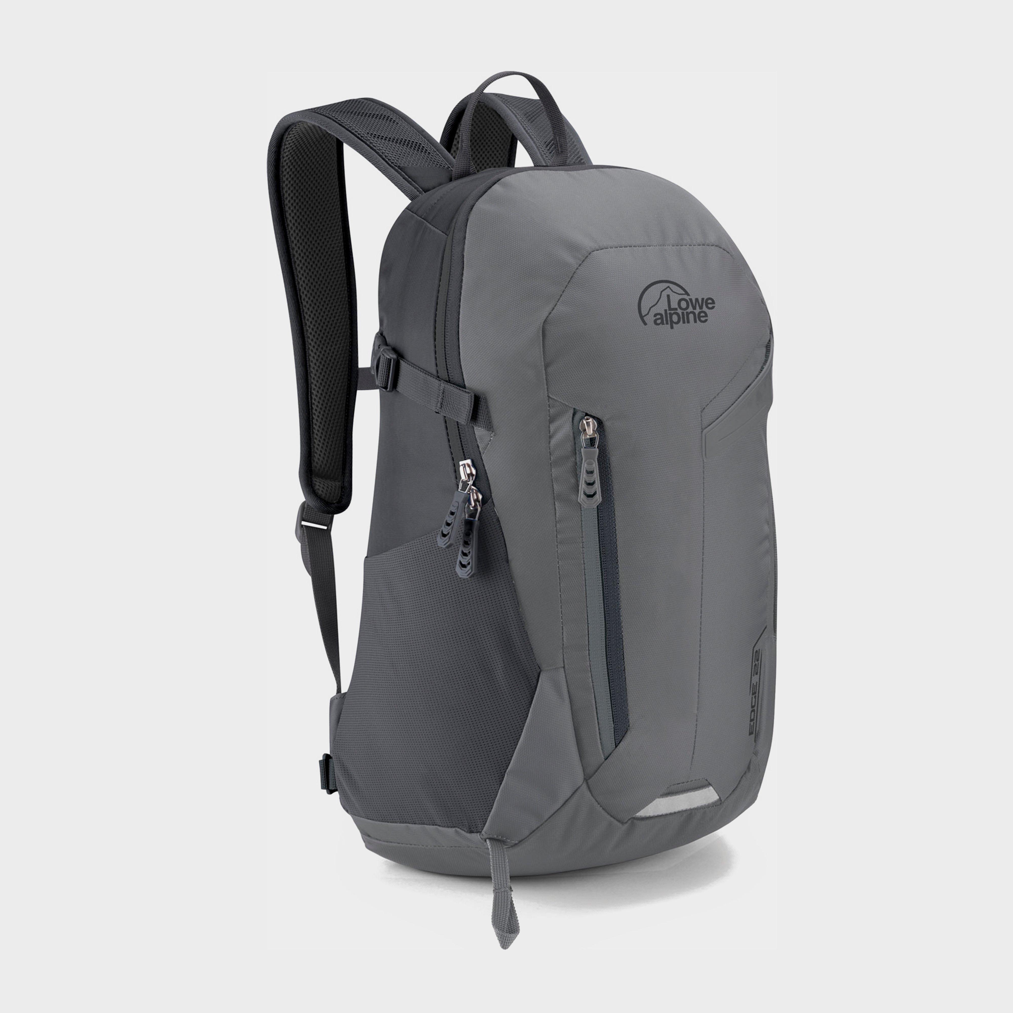 Lowe Alpine Lowe Alpine Edge II 22 Daysack - Grey, Grey
