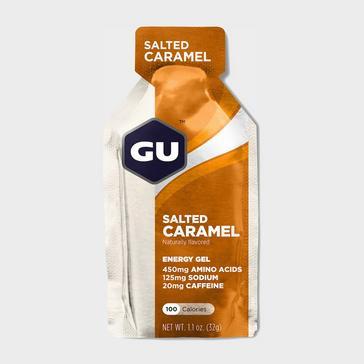 Yellow GU Energy Gel - Salted Caramel
