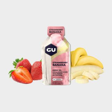 Yellow GU Energy Gel - Strawberry Banana