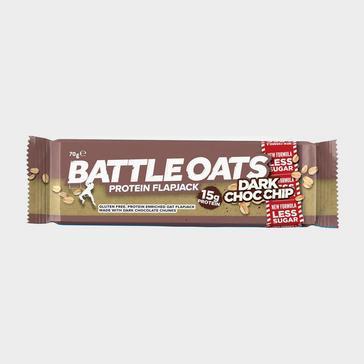 BROWN Battle Oats Protein Flapjack 70g (Dark Choc Chip)