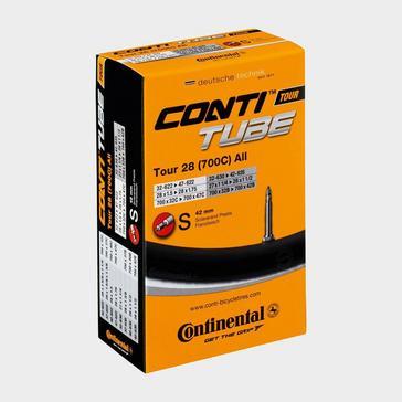 Black Continental Tour 28 (700c) Inner Tube (32-47)