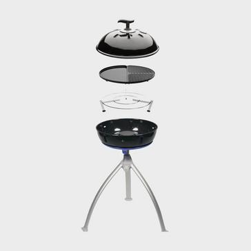 black Cadac Grillo Chef 2 - BBQ/Plancha - Dome