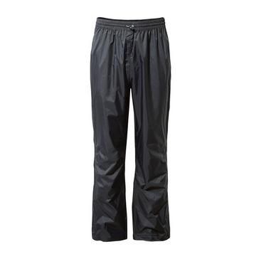 BLACK Craghoppers Ascent Overtrousers (Unisex)