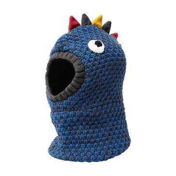 BLUE The Edge Kids' Dinosaur Hood
