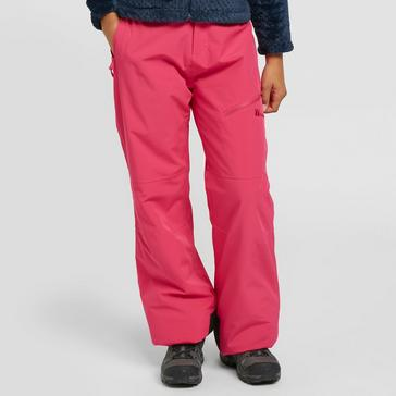 Pink The Edge Kids' Vail Stretch Salopettes